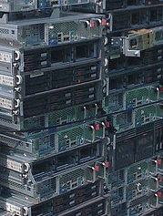 Pile of servers