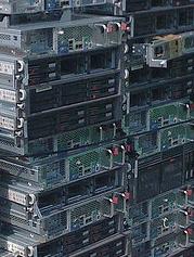 Pile of servers